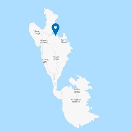 kourvoulia-map